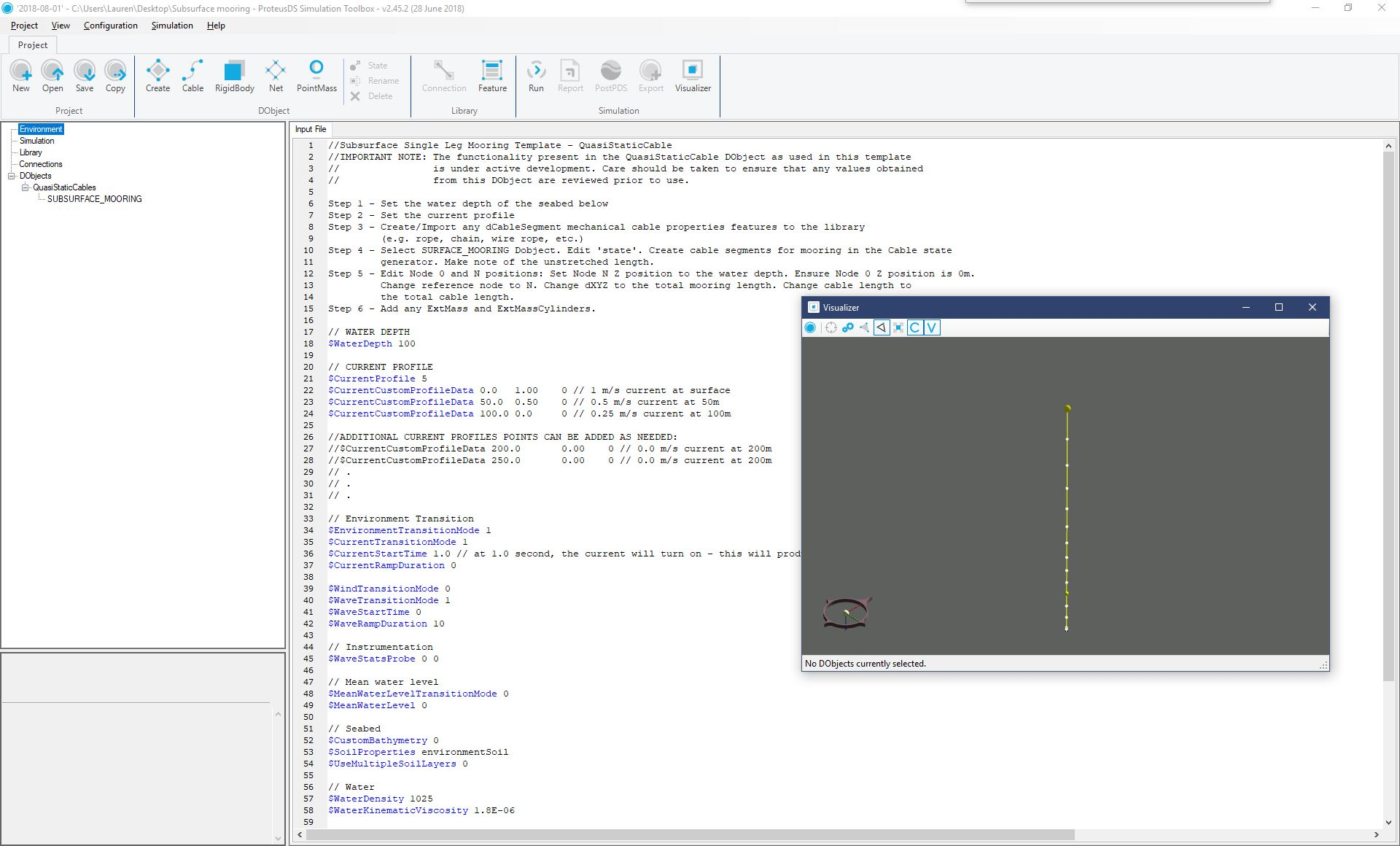 APA_DSA_Subsurface Mooring - ProteusDS ToolboxJPG