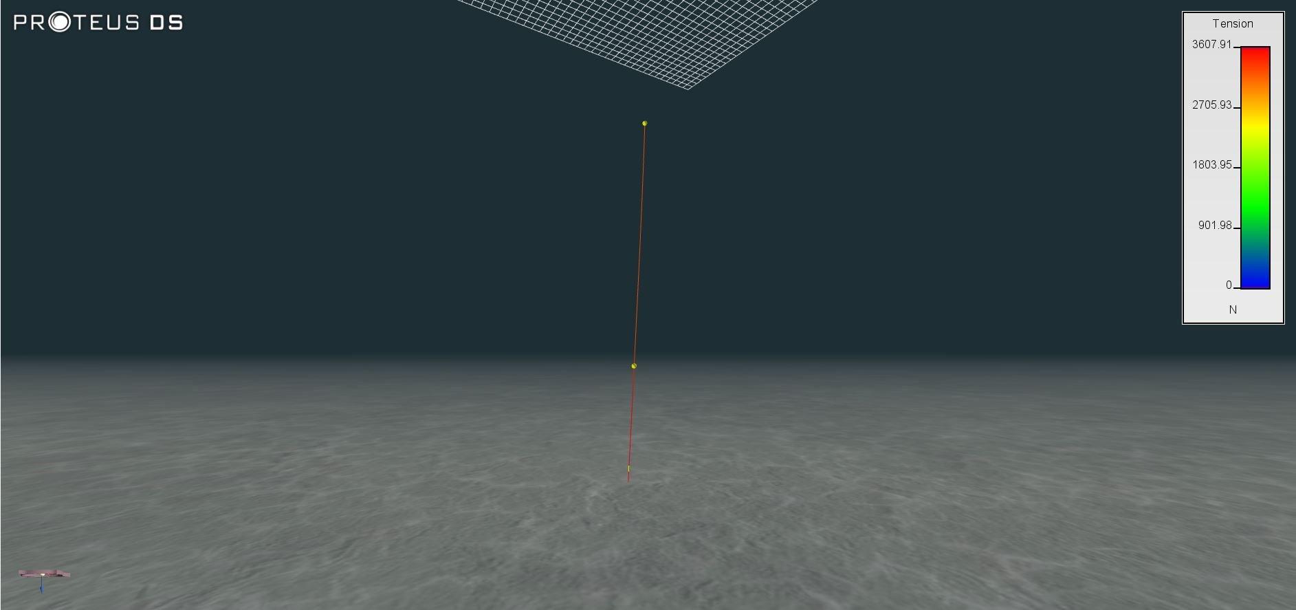 APA_DSA_Subsurface Mooring - with tension